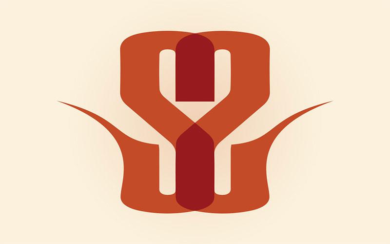 Sacred Scent logo design.