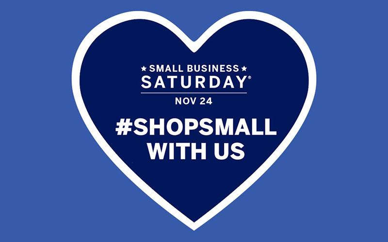 Graphic Design for Small Business Saturday.