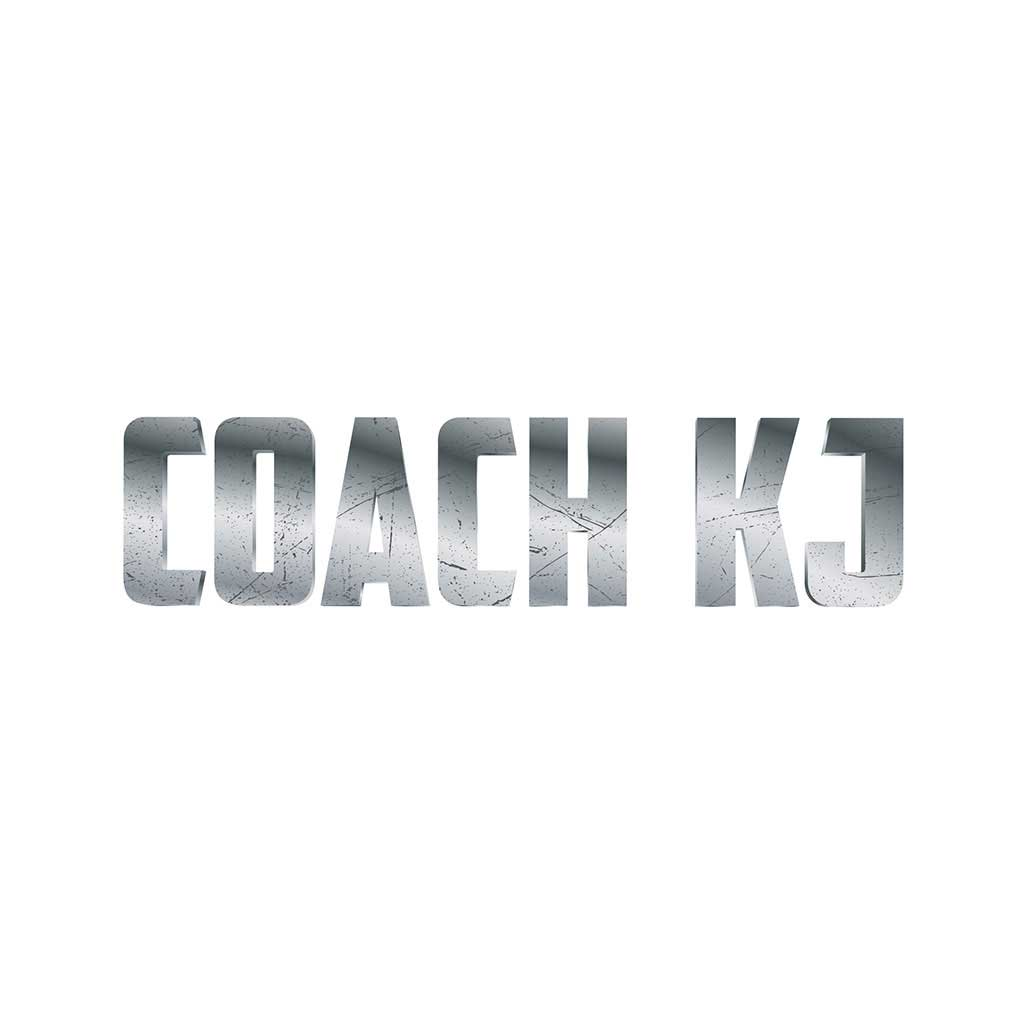 Coach KJ logo design.