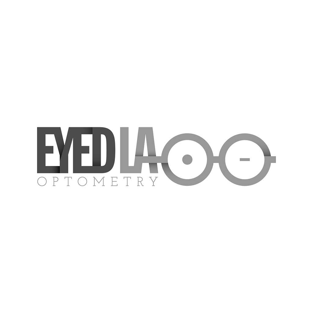 Eyed LA Optometry logo design.