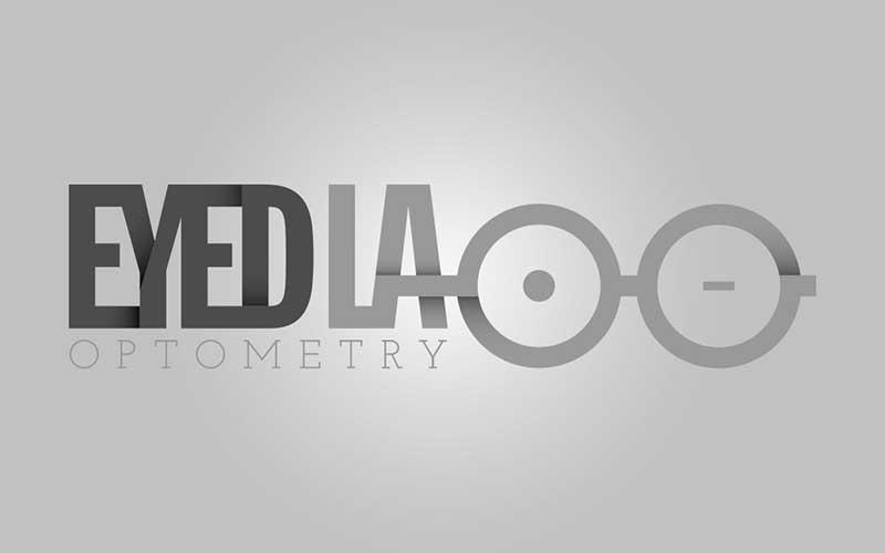 Eyed LA Optometry logo design.