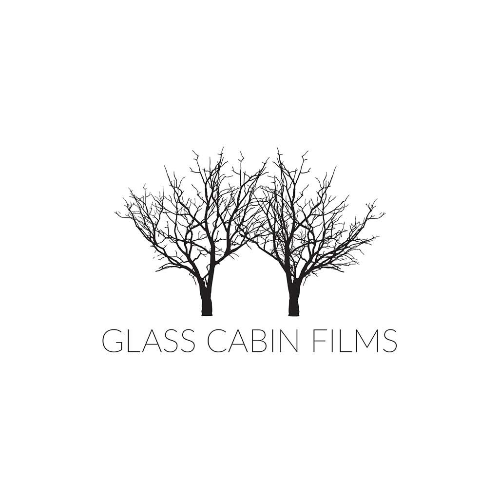 Glass Cabin Films logo design.