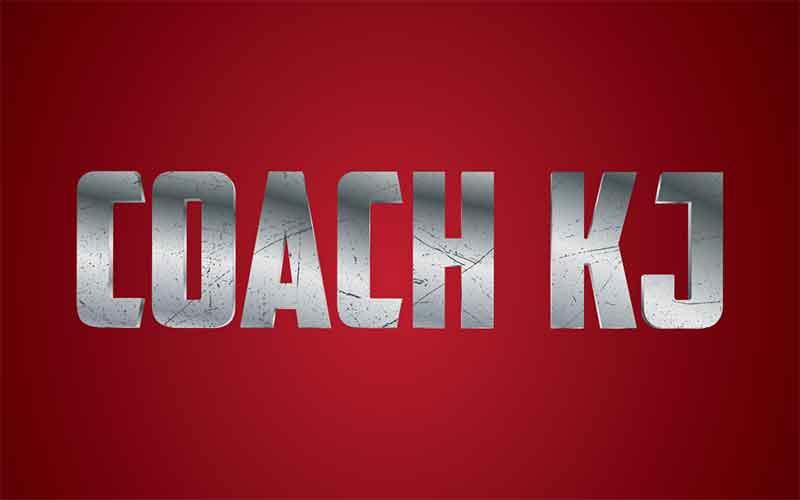 Coach KJ logo design.
