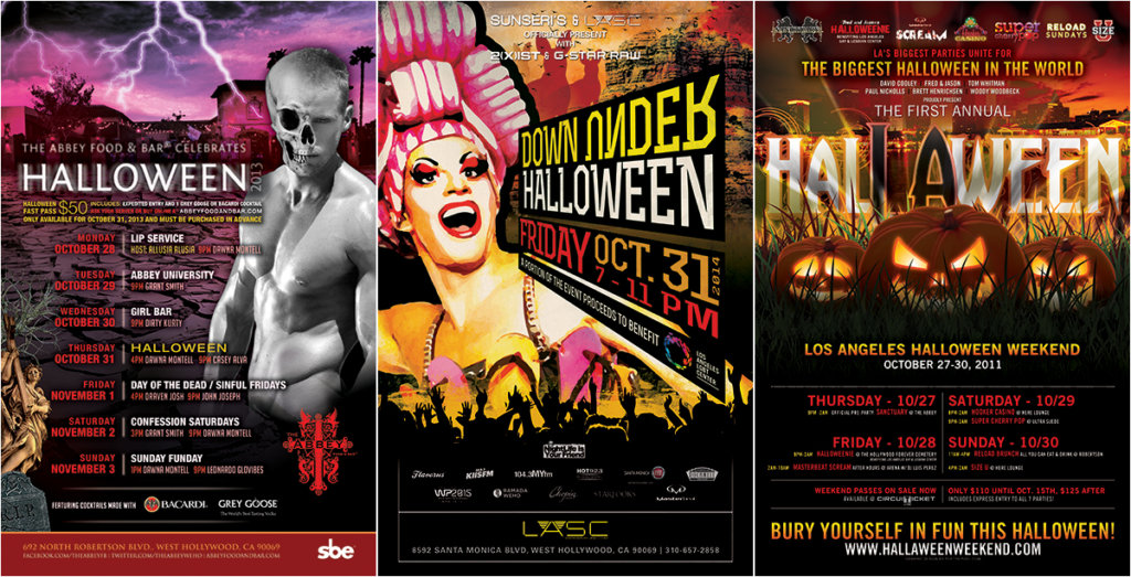 Halloween Flyer Designs Part 2